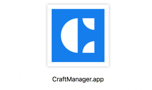 Craft Manager im Finder