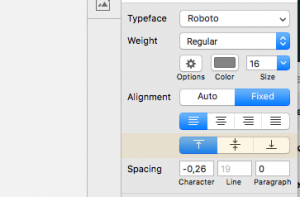 Neue Funktion in Sketch: Text Vertikal ausrichten