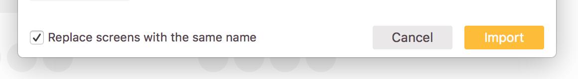 Hochgeladene Designs werden versioniert, wenn du den Haken im Hochladen Dialog aktiviert lässt