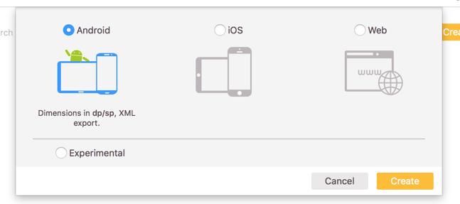 Auswahl zwischen Android iOS und Web für ein neues Projekt
