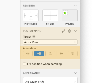 Sketch Prototyping im Inspector